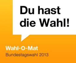 Banner: Wahl-O-Mat Bundestagswahl 2013