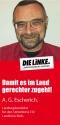 Flyer: Alfred Georg Escherich