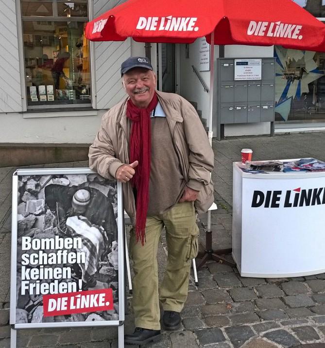 Bild vom Infostand in Schwabach